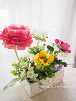 インテリア ディスプレイ フラワーアレンジメント FlowerDesign Annabelle
