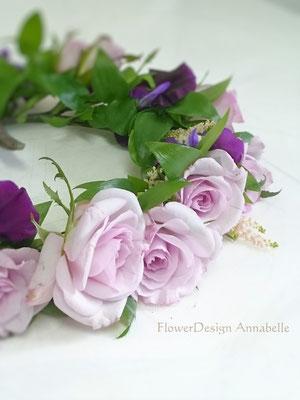 ヘアドレス 花冠 FlowerDesign Annabelle