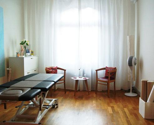 Die Praxisräume sind Rollstuhlgängig