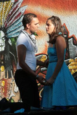 Romeo et Juliette. Cie Gerard Gerard. Rivesaltes