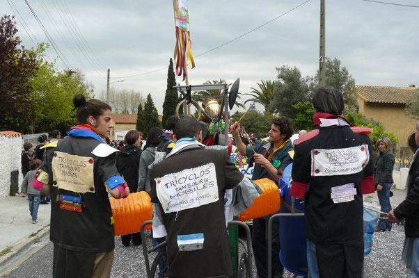 Cie Les tricyclo tambour mobiles. Baixas