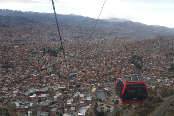 Seilbahn nach El Alto
