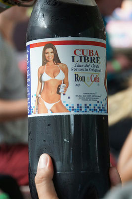 Cuba Libre in ansprechenden 2 Literflaschen