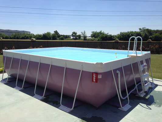 Nos photos piscine laghetto gard for Piscine 8x3