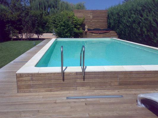 Nos photos piscine laghetto hors sol gard al s for Horaire piscine ales