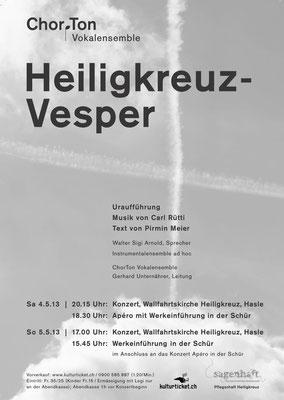2013 Heiligkreuz Vesper