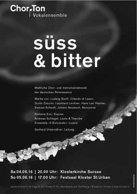 2016 Süss und bitter