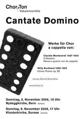 2008 Cantate Domino