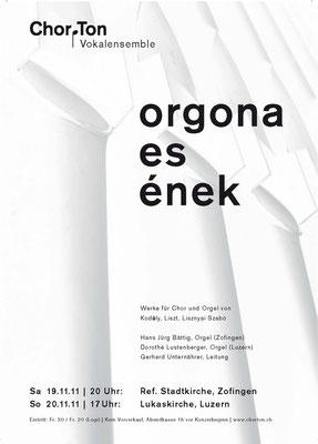 2011 Orgona es enek