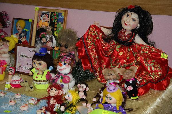 Купить интерьерную куклу