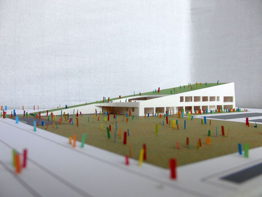 浮気保育園改築の設計者選定コンペ