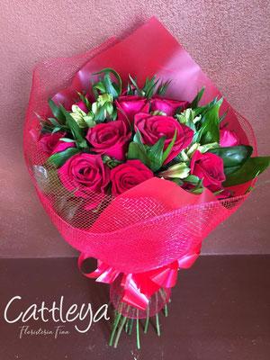 RR#01 $580.-  [12 rosas color]