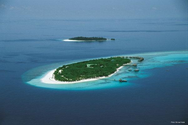 Resort-Insel im Baa-Atoll