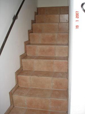 habillage d'un escalier à La Primaube(Aveyron)