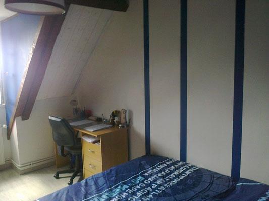 Décoration d'une autre chambre en bleu