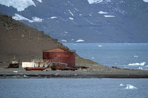 ein Teil der Antarktisstation