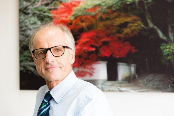 Prof. Dr. Kurt Hecher, Direktor der Klinik für Geburtshilfe und Pränatalmedizin