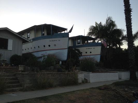 Maisons bateau d'Encinitas