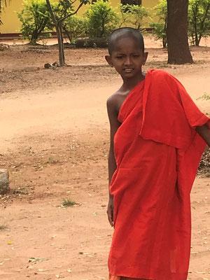 Un jeune moine
