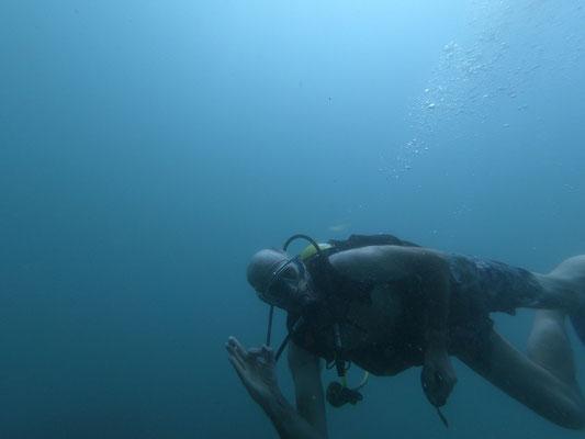 Une de nos 2 plongées