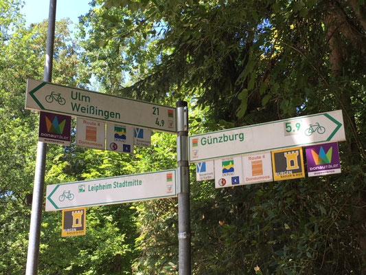 Signalisation des pistes cyclables en Allemagne