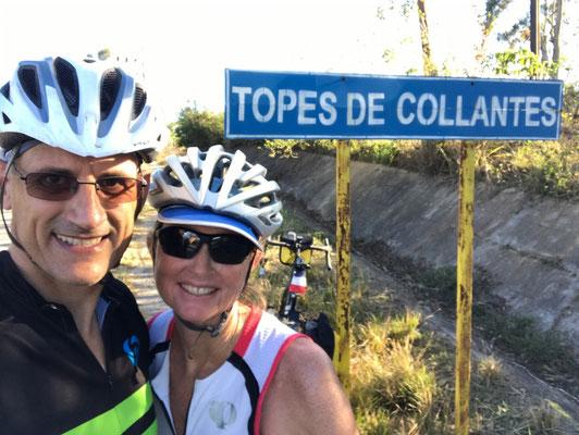 Ouf, nous voilà au sommet après 28 km éprouvants
