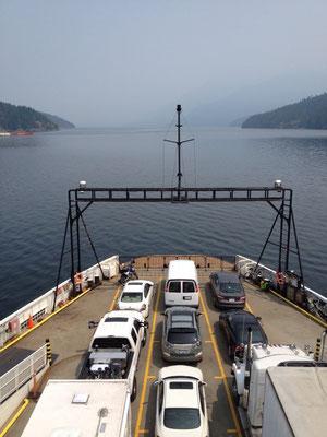 Sur un ferry