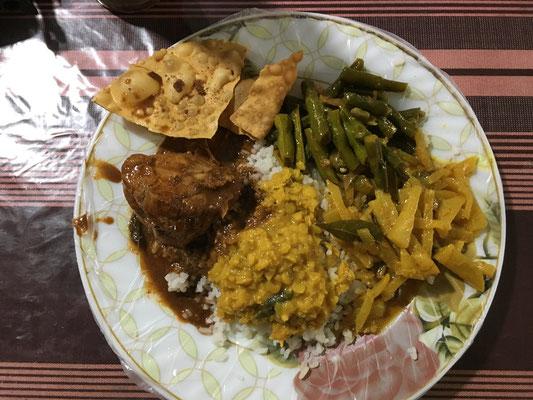 un bon rice and curry