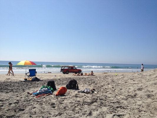 Encinitas: Ambiance de plage californienne