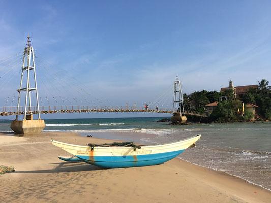 Jolie côte entre Tangalle et Colombo