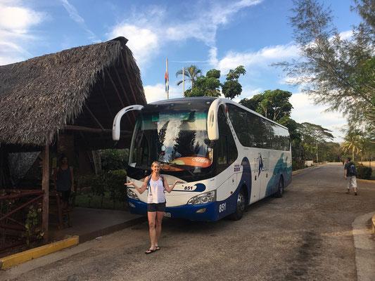 Nous prenons le bus entre La Havane et Playa Larga