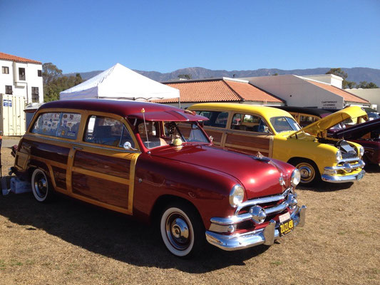 Santa Barbara: Expo de woodies