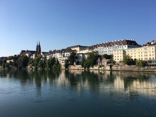 Bâle et le Rhin