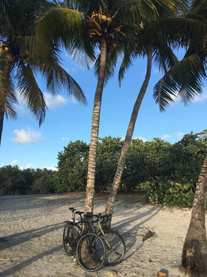 Plage à Playa Giron