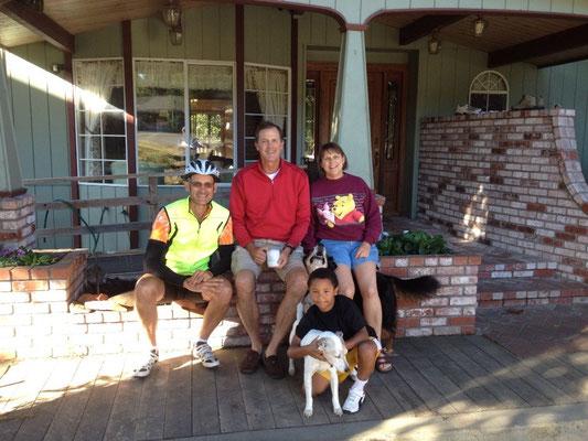 L'accueillante famille de Dal à Eureka
