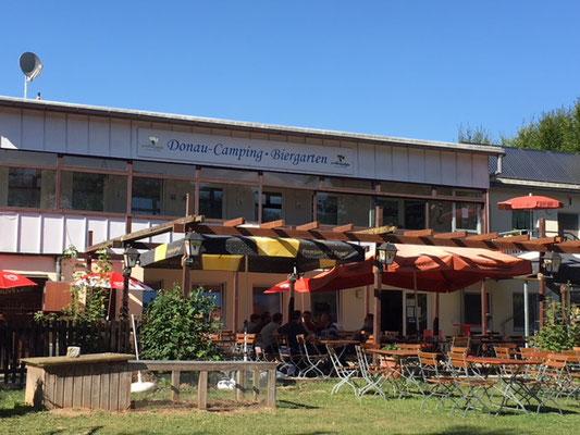 Camping et biergarten à Dillingen