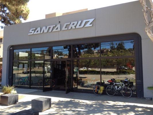 Les vélos Santa Cruz