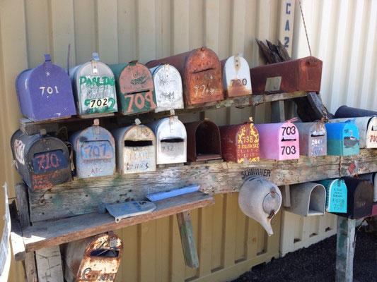 Boites aux lettres