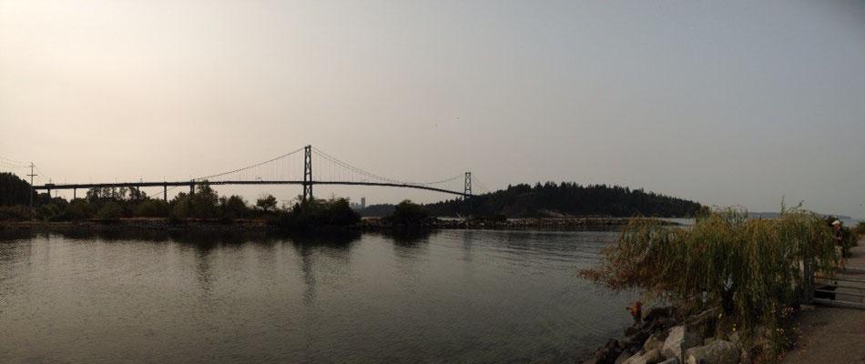 Vancouver: Le Lions Gate Bridge