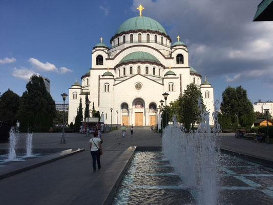 Cathédrale Saint Sava