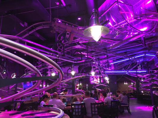 Le Roller Coaster restaurant au Prater
