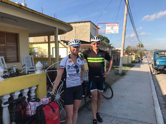 A Bahia Honda, prêts pour notre 2ème étape