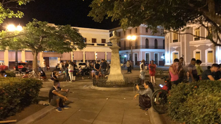 Cienfuegos, le hot spot wifi