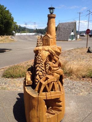 Belle sculpture en bois