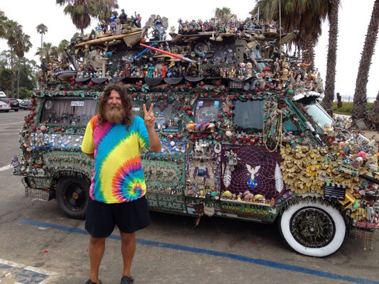 Santa Barbara: Van étonnant