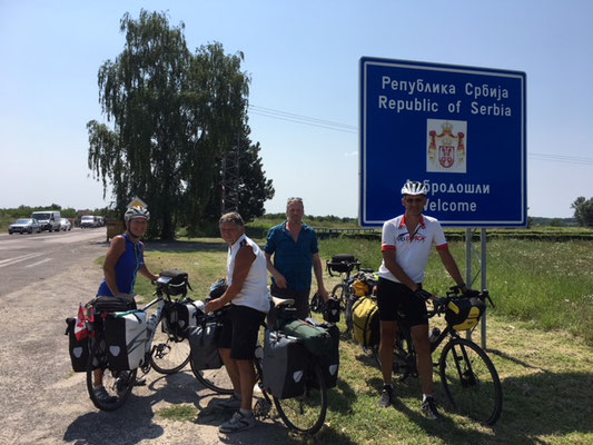 Passage en Serbie