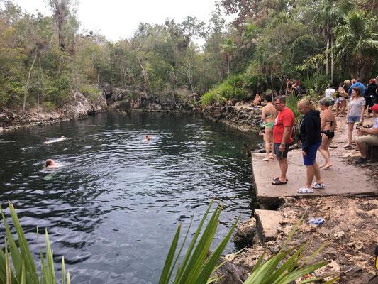 La Cueva de los Peces sur la Baie des Cochons