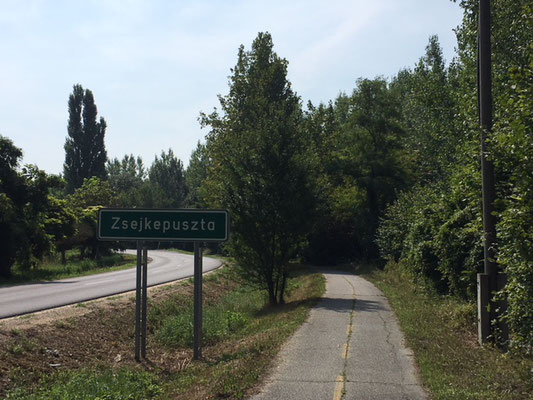 Piste cyclable hongroise