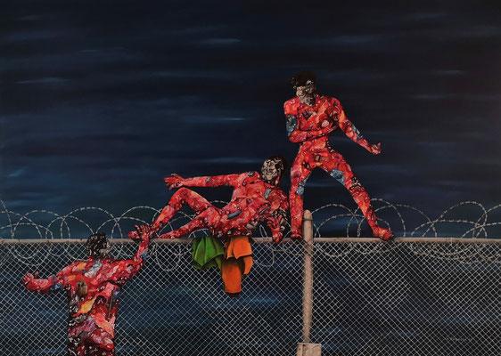 Sehnsucht 2015, Öl auf Leinwand, 120x140 cm