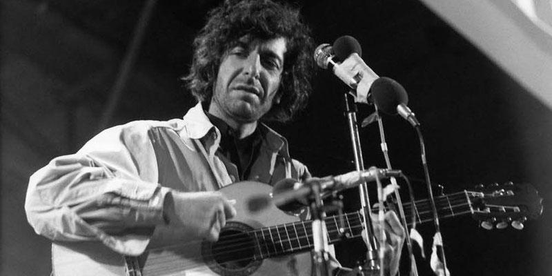 Leonard Cohen in berlin
